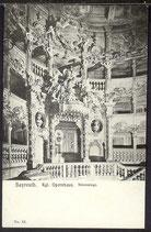 AK Bayreuth Kgl. Opernhaus, Fürstenloge     20/50