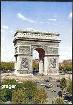 AK Paris, L'Arc de Triomphe    65-o