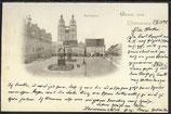 AK Deutsches Reich 1898 Gruss aus Wittenberg, Marktplatz   5/21