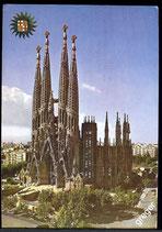 AK Barcelona,Templo de la Sagrada Familia    58/43