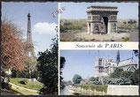 AK Souvenir de Paris Mehrbildkarte   v 11