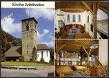 AK Kirche Adelboden Mehrbildkarte   39/27