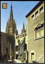 AK Barcelona, Königl. Gartenschloß     58/8