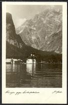 AK Deutsches Reich 1944 Königssee 8/4