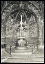 AK Siena, die Taufenkirche, der Taufenstein   65/18
