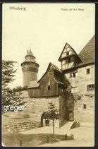 AK Nürnberg Partie auf der Burg    27b