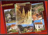AK Fränkische Schweiz Mehrbildkarte, Naturpark     21/8