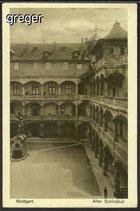 AK Deutsches Reich Stuttgart, Alter Schlosshof    29i
