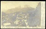 AK Berchtesgaden von der Locksteinstrasse   65/50