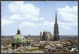 AK Wien Panorama mit Stephansdom     52/19