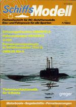 Schiffsmodell 7/83 d  abl