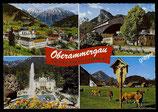 AK Mehrbildkarte Oberammergau   70/21