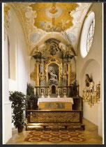 AK Bruckmühl Pfarrkirche Weihenlinden Schmerzensaltar, Grufteingang     29/41