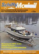 Schiffsmodell 7/85 c  abl
