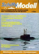 Schiffsmodell 7/83 e  abl