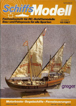 Schiffsmodell 10/87 b  abl