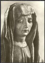 AK Eisenach. Thüringisches Museum, Kopf der Maria von einem Vesperbild  16/25
