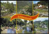 AK Schönmunzach, Mehrbildkarte    36-l