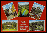 AK Mehrbildkarte, Fränkische Schweiz     71/40