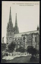 AK Clermont-Ferrand, Place de la Cathédrale   91/28