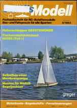 Schiffsmodell 8/83 e  abl