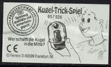 Kugel-Trick-Spiel von 1965   657026 - 1x