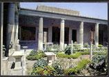 AK Pompei Ausgrabungen Haus der Vettil-Peristyl    y40