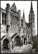 AK Chartres, La Cathédrale    52-o