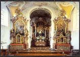 AK Altenhohenau Dominikanerinnenkloster, Drei Altäre von Ignatz Günther   29/39