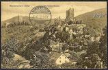AK Manderscheid i. Eifel, Die beiden Burgen    67i
