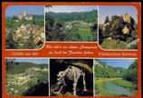 AK Mehrbildkarte von der Fränkischen Schweiz   69/49