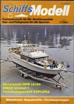 Schiffsmodell 7/85 d  abl
