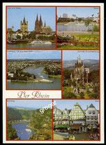 AK Mehrbildkarte: Der Rhein   70/18