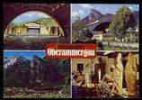 AK Mehrbildkarte Passionsdorf Oberammergau   70/20