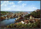 AK Passau mit Inn, Donau und Ilz     34/4