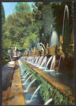 AK Tivoli, Villa D´Este Hundert Springbrunnen   47/23