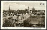 AK Deutsches Reich, Würzburg, Alte Mainbrücke     93j