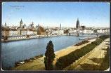 AK Deutsches Reich 1914, Frankfurt Panorama    20/18