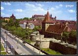 AK Nürnberg, Wassergraben mit Blick zur Burg    82p
