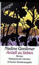 Anlaß zu lieben von Gordimer, Nadine