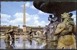 AK Paris, La Place de la Concorde, l´Obelisque et les Fontaines   40/40