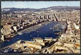 AK Marseille, Vue ariénne du Vieux Port    77-o
