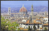 AK Blick vom Piazzale Michelangelo über Florenz     55/38
