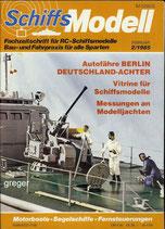 Schiffsmodell 2/85 d  abl