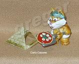 Miezi Cats von 1998  - Carlo Calzone   -  mit BPZ   - 5x