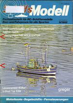 Schiffsmodell 9/82 d  abl