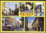 AK Weiden in der Oberpfalz, Mehrbildkarte    56/45