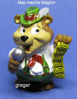 T.T.Teddies in Volksfeststimmung von 1996  - Max macht´s möglich  -    mit BPZ   - 8x
