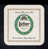 Bierdeckel - Licher  18