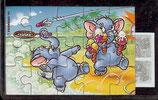 Ü-Ei Puzzle Nr.3  Funny Fanten oben links  -  3x